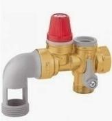 Groupe de sécurité pour chauffe eau horizontal 7 bars 20x27 - Chauffe-eau et Accessoires - Salle de Bains & Sanitaire - GEDIMAT