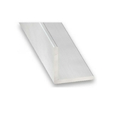 Cornière égale en aluminium anodisé incolore ép.1,5mm haut.10mm larg.10mm long.2m - Tige filetée acier zingué diam.4mm long.1m en vrac de 1 pièce - Gedimat.fr