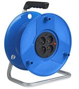 Enrouleur standard livré vide capacité de 50m - Rallonges - Enrouleurs - Electricité & Eclairage - GEDIMAT