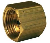 Manchon laiton brut femelle-femelle égal 270AB à butée intérieure diam.26x34mm 1 pièce - Tubes et Raccords d'alimentation eau - Plomberie - GEDIMAT