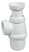 Siphon d'évier réglable gamme BASIC - Vidages - Salle de Bains & Sanitaire - GEDIMAT