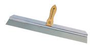 Couteau à enduire pour brut de décoffrage lame inox trempé poignée bois 60cm - Outillage du plaquiste et plâtrier - Outillage - GEDIMAT