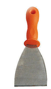 Riflard lame inox trempé manche plastique larg.7,5cm - Porte coupe-feu EI30 (1/2h) en fibre de bois prépeinte haut.2,04m larg.83cm - Gedimat.fr