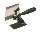 Truelle d'angle intérieur lame acier inox larg.12cm long.20cm - Outillage du maçon - Outillage - GEDIMAT