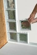 Brique de verre CUBIVER ép.8cm dim.19,8x19,8cm nuagée - Briques de verre - Isolation & Cloison - GEDIMAT