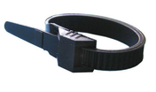 Collier d'installation et câblage électrique noir larg.9mm long.180mm sachet 25 pièces - Attaches - Raccordements - Accessoires - Electricité & Eclairage - GEDIMAT