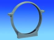 Collier de fixation pour tube en PVC diam.32mm - Câble électrique rigide unifilaire H07VU diam.1,5mm² coloris bleu en couronne de 10m - Gedimat.fr