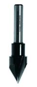 Fraise pointe laser 60° diam 15 queue 8 acier - Consommables et Accessoires - Outillage - GEDIMAT