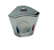 Croisillon tricorne (s) abs chromé coque 2 pièces - Accessoires pose de carrelages - Revêtement Sols & Murs - GEDIMAT
