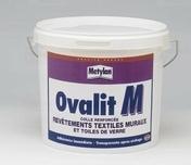 Colle revêtements muraux OVALIT M 5kg - Colles - Adhésifs - Peinture & Droguerie - GEDIMAT