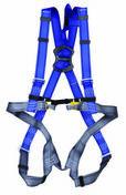 Harnais antichute 2 points d'accrochage dorsal et sternal bleu - Anti-chute - Couverture & Bardage - GEDIMAT