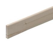 Plinthe Chêne bord arrondi section 10x110mm long.2,40m - Moulures - Menuiserie & Aménagement - GEDIMAT