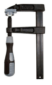 Presse à manche Nylon Tige acier saillie 90 section 22x5 serrage 300 - Outillage du menuisier - Revêtement Sols & Murs - GEDIMAT