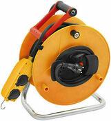Enrouleur prolongateur BT PRO avec câble 40m HO7 RN-F 3G1,5 et disjoncteur thermique - Rallonges - Enrouleurs - Electricité & Eclairage - GEDIMAT