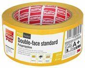 Adhésif double face polypropylène standard P753 - 25mx50mm - Colles - Adhésifs - Quincaillerie - GEDIMAT