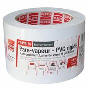 Raccord pare-vapeur P449 SI larg.75mm long.66m - Kit VMC simple flux SIMPLY'AIR 4S - Gedimat.fr