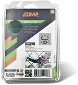 Agrafes galvanisées plastifiées vert OMEGA 20 boîte de 1000 pièces - Cloison plaque de plâtre standard PREGYFAYLITE BA50 ép.5cm larg.1,20m long.2,70m - Gedimat.fr