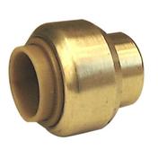 Bouchon laiton rapide RSO pour tube cuivre diam.14mm 1 pièce - Tubes et Raccords d'alimentation eau - Plomberie - GEDIMAT