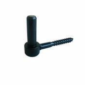 Gond à tir-fond en acier diam.14mm long.9cm cataphorèse noir - Fronton pour rives verticales DC12 et DCL coloris flammé languedoc - Gedimat.fr