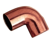 Coude cuivre à souder angle 90° femelle femelle diam.32mm - Tubes et Raccords d'alimentation eau - Plomberie - GEDIMAT