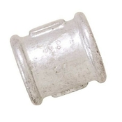 Manchon acier galvanisé 270 égal femelle femelle à butée diam.26x34 en vrac 1 pièce - Câble électrique rigide R2V 2x1,5mm² coloris noir vendu à la coupe au ml - Gedimat.fr