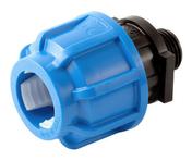 Raccord plastique droit mâle à visser diam.15x21mm pour tube polyéthylène diam.20mm en vrac 1 pièce - Cheville-étoile plastique 8x60, pour fixation d'isolant non rigide ép.20 à 40 mm, 250 pièces - Gedimat.fr