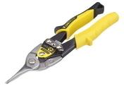 Cisaille à tôle coupe droite acier forgé long.25cm - Outillage du plaquiste et plâtrier - Outillage - GEDIMAT
