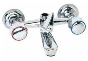 Mitigeur bain-douche RU en laiton finition chromée - Bains-douches - Salle de Bains & Sanitaire - GEDIMAT