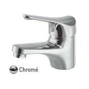 Mitigeur lavabo SATURNOS bec bas en laiton finition chromé NF - Lavabos - Vasques - Lave-mains - Plomberie - GEDIMAT