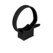 Collier de fixation à embase coloris noir serrage diam.16 à 32mm en sachet de 10 pièces - Attaches - Raccordements - Accessoires - Electricité & Eclairage - GEDIMAT