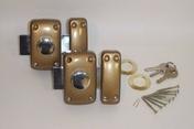 2 Verrous BRICARD s'entrouvrant à bouton, 4 clés - Doublage isolant plâtre + polystyrène PREGYSTYRENE TH32 ép.13+40mm larg.1,20m long.2,60m - Gedimat.fr