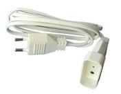 Rallonge électrique simple 2 pôles 6A coloris blanc long.3m - Rallonges - Enrouleurs - Electricité & Eclairage - GEDIMAT