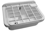 Poste d'eau matière synthétique blanc 550x390x280 - Vasques - Plans vasques - Salle de Bains & Sanitaire - GEDIMAT