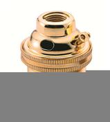 Douille électrique laiton culot à baïonnette B22 - Fiches - Douilles - Adaptateurs - Electricité & Eclairage - GEDIMAT