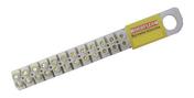 Barette de connexion électrique capacité 6mm² coloris blanc barrette de 10 bornes - Table aluminium pliante globe dim.70x70cm haut.74cm coloris gris - Gedimat.fr
