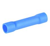 Manchon électrique à sertir femelle pré-isolé section 1,5 à 2,5mm² coloris bleu 10 pièces - Modulaires - Boîtes - Electricité & Eclairage - GEDIMAT