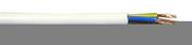 Câble électrique souple H05VVF section 3G2,5mm² coloris blanc vendu à la coupe au ml - Fils - Câbles - Electricité & Eclairage - GEDIMAT