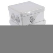 Boîte de dérivation électrique étanche IP44 carrée dim.105x105mm prof.55mm en lot de 3 pièces - Bois Massif Abouté (BMA) Sapin/Epicéa traitement Classe 2 section 60x120 long.11,50m - Gedimat.fr
