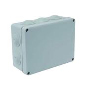 Boîte de dérivation électrique étanche IP55 rectangulaire long.170mm larg.140mm haut.70mm coloris gris - Modulaires - Boîtes - Electricité & Eclairage - GEDIMAT