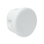 Boite de dérivation électrique étanche classe II coloris blanc ronde dim.80mm haut.45mm sous film 1 pièce - Arêtier tige de botte coloris rustique - Gedimat.fr