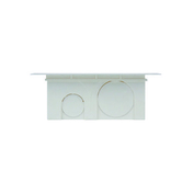 Boîte de dérivation carrée avec couvercle pour maçonnerie dim.90x90mm haut.40mm sous film 1 pièce - Modulaires - Boîtes - Electricité & Eclairage - GEDIMAT