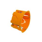 Boîte d'encastrement électrique pour cloison creuse 1 poste diam.85mm haut.50mm sous film 1 pièce - Modulaires - Boîtes - Electricité & Eclairage - GEDIMAT