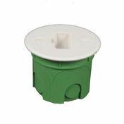 Boîte luminaire pour maçonnerie applique équipée d'une fiche DCL diam.40mm sous film 1 pièce - Modulaires - Boîtes - Electricité & Eclairage - GEDIMAT