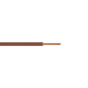 Câble électrique unifilaire cuivre H07VU section 1,5mm² coloris marron en bobine de 10m - Fils - Câbles - Electricité & Eclairage - GEDIMAT