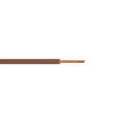 Câble électrique unifilaire cuivre H07VU section 1,5mm² coloris marron en bobine de 25m - Fils - Câbles - Electricité & Eclairage - GEDIMAT