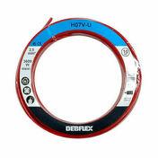 Câble électrique unifilaire cuivre H07VU section 2,5mm² coloris rouge en bobine de 10m - Contreplaqué agencement tout peuplier ép.12mm larg.1,22m long.2,50m - Gedimat.fr