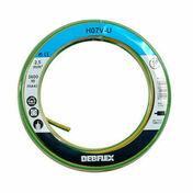 Câble électrique unifilaire cuivre H07VU section 2,5mm² coloris vert-jaune en bobine de 10m - Fils - Câbles - Electricité & Eclairage - GEDIMAT