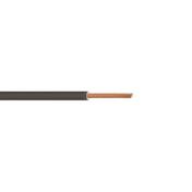 Câble électrique unifilaire cuivre H07VU section 2,5mm² coloris noir en bobine de 25m - Fils - Câbles - Electricité & Eclairage - GEDIMAT
