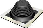 Manchon FENOFLASH 9 en EPDM pour sortie de toit, tuyau diam.250 à diam.500mm - Demi-tuile de rive gauche SIGNY coloris rouge naturel - Gedimat.fr