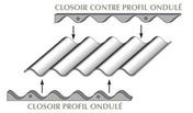Closoir mousse pour Fibres-ciment,mm long.6m, pour faitage et égout, 6m - Lanterne grand modèle diam.120mm coloris noir - Gedimat.fr